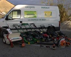 Gicquel Service Vert - La chapelle de Brain - Galerie Photo